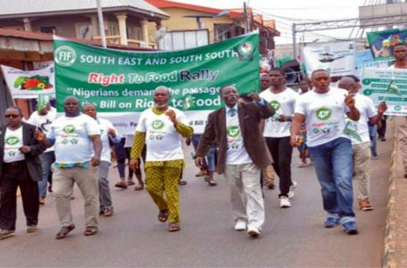 Rally on Right to Food Bill Takes Place in Edo