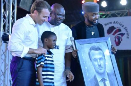 Olamilekan, The 11-Year-Old Who is Macron's New found Friend