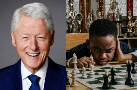 Ex-President Clinton invites eight-year-old Nigerian chess champion, Tanitoluwa