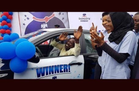 Labourer Won A Saloon Car From Dangote