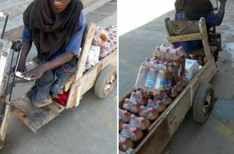 Physically Challenged Man Constructs Wheelchair Pickup Van For His Business