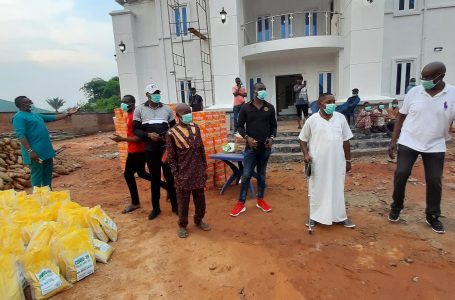 COVID-19: Hon. Nwafor Distributes Food Items to Abba Community- Insists on Adherence to them health tips