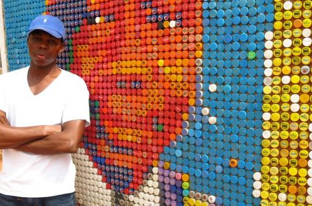 I made the Biggest Bottle Cover Art in Africa from Waste – Joshua Egesi